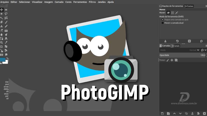 PhotoGIMP agora está disponível em Snap