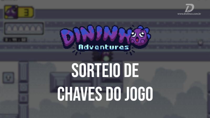 Dininho Adventures: Sorteio de chaves do jogo