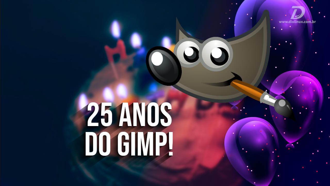 GIMP: A trajetória dos 25 anos