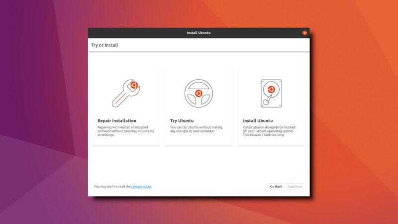 Uma nova forma de instalar o Ubuntu?