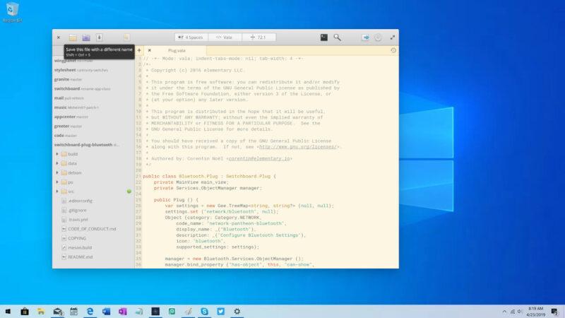 Utilizando aplicativos GUI de Linux no Windows 10 com WSLg